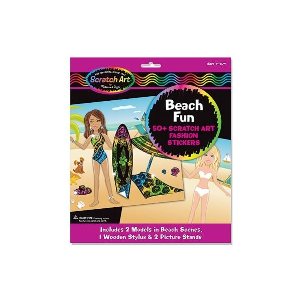 Scratch magic - Beach fun