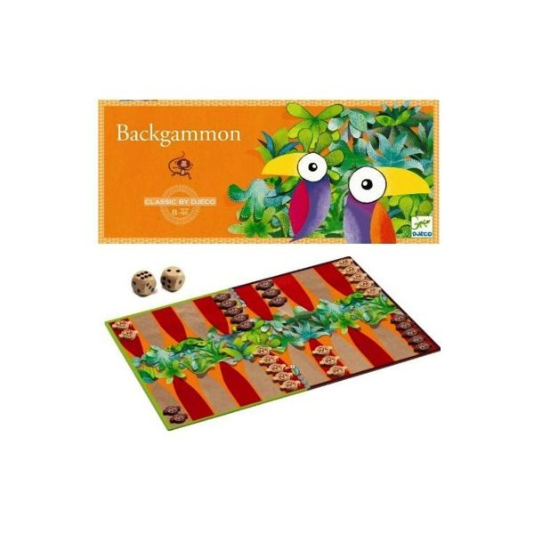 Spel - Backgammon