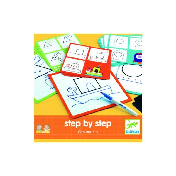 Rita - Step by step - Geo and Co - Djeco