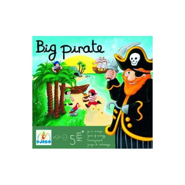 Spel - Big Pirate - Djeco
