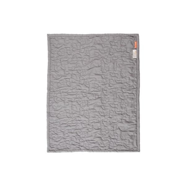 Quiltad filt - Contour, grey - Done by deer