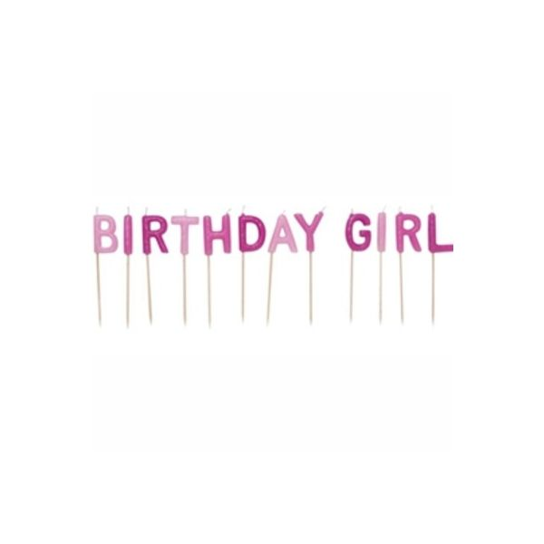 Tårtljus - Birthday girl
