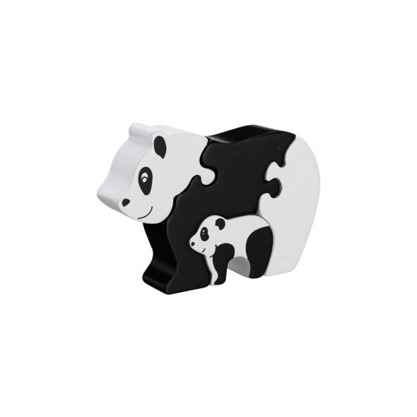 Pussel - Pandamamma med barn (Fair Trade) - Lanka Kade