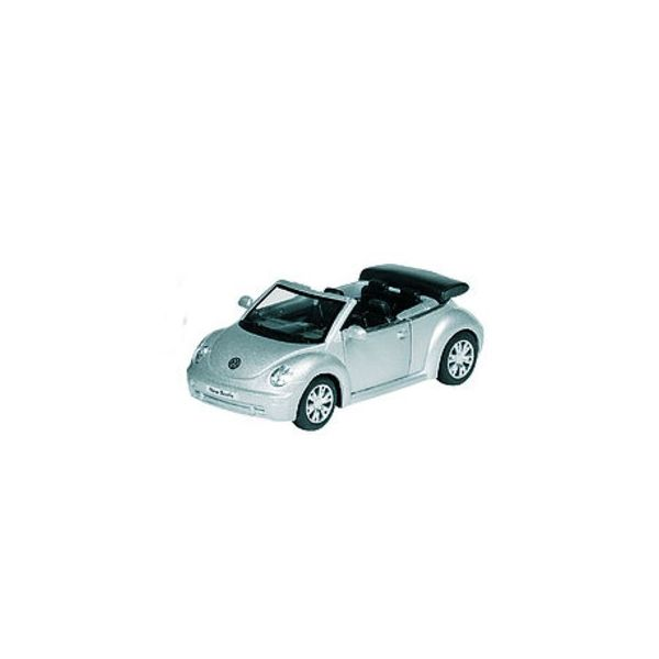 Bil i metall - VW Beetle Cabriolet - silver