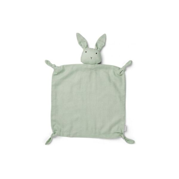 Snuttefilt - Cuddle Cloth Rabbit Dusty Mint - ekologisk från Liewood