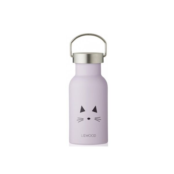 Drickflaska - Anker - Cat light lavender - Liewood