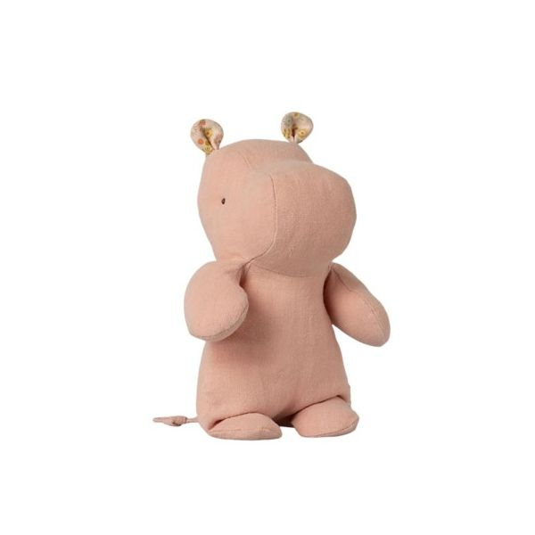 Safari friends small hippo - Rose - gosedjur - 22 cm från Maileg