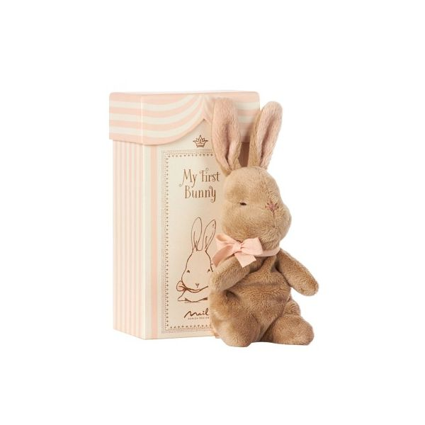 My First Bunny in box - gosedjur - rosa - Maileg