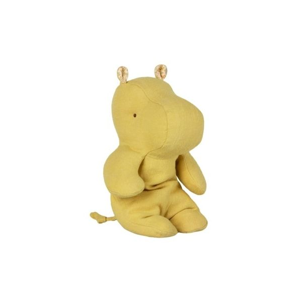 Safari friends small hippo - Lime - gosedjur - 22 cm - Maileg