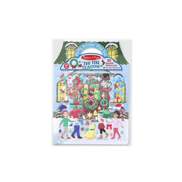 Aktivitetsbok - Tis the Season - Melissa & Doug