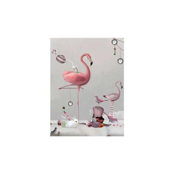 Poster - flamingo - MINI by On