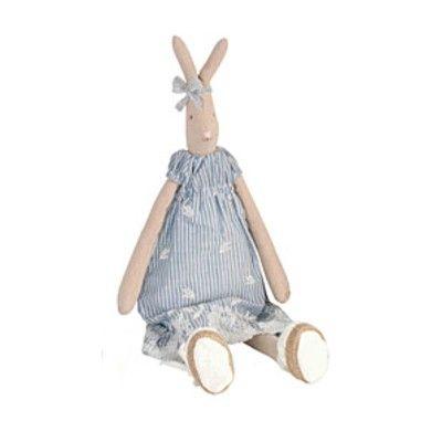 Kanin - medium - Emily med blå klänning - Maileg