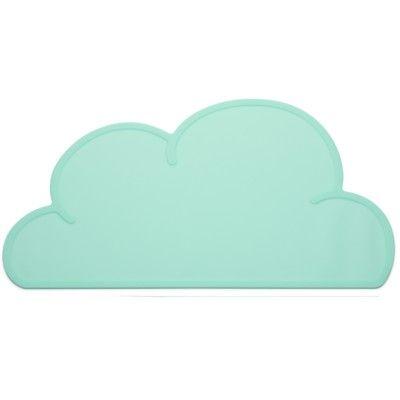 Underlägg i silikon - aqua moln - KG Design