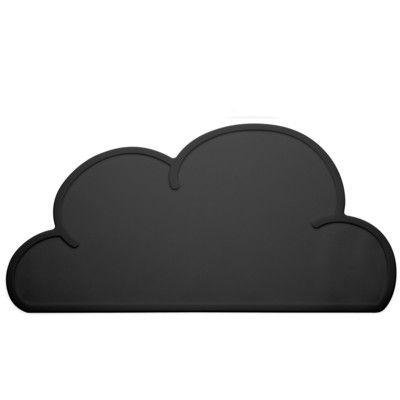 Underlägg i silikon - svart moln - KG Design