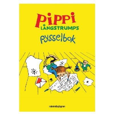 Pysselbok - Pippi Långstrump
