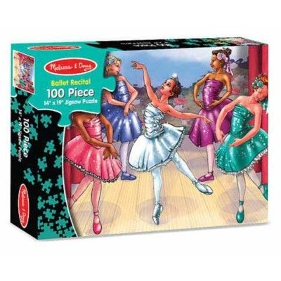 Pussel - Balett - 100 bitar