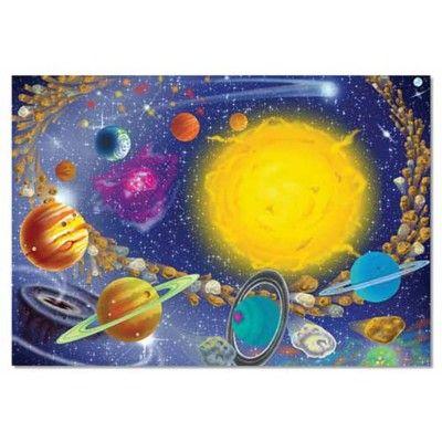Pussel med solsystemet - 100 bitar