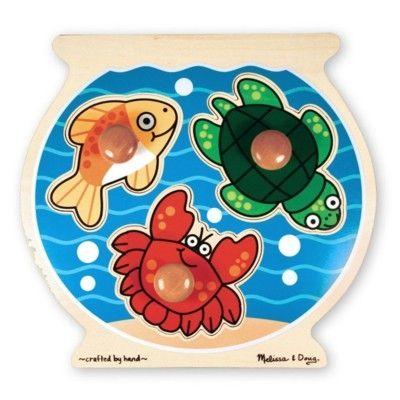 Knopp-pussel - fiskskål