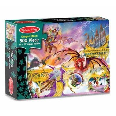 Pussel - Dragon storm - 500 bitar