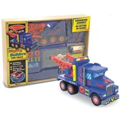 Bygg din egen lastbil i trä
