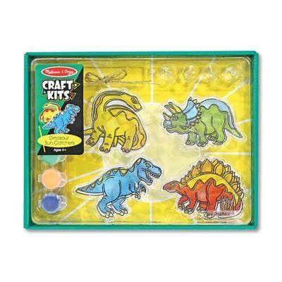 Gör egna solfångar-dinosaurier