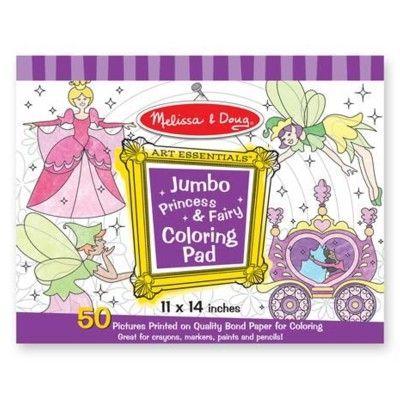 Målarbok jumbo - lila