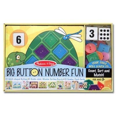 Pussel - Lär dig räkna med knappar