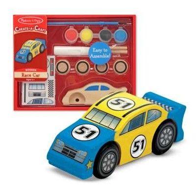 Racerbil i trä - bygg och måla själv