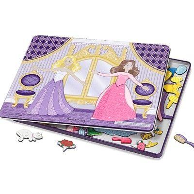 Pussel - Klä på dansande prinsessor