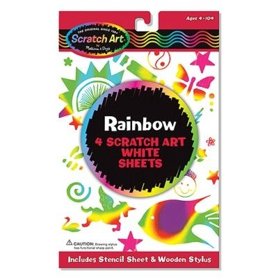 Scratch art - Rainbow