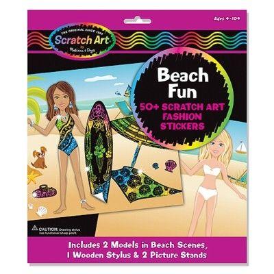 Scratch magic - Beach fun