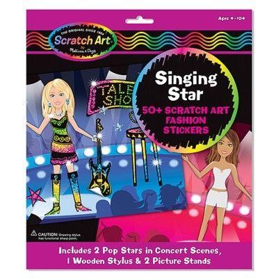 Scratch magic - Singing star