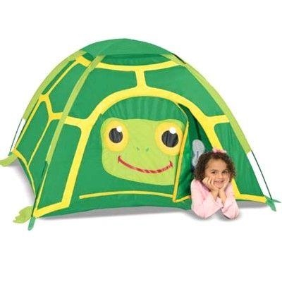 Tält till lek - sköldpadda