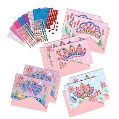 Mosaik - Kort med tiaror