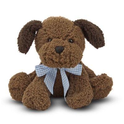 Hund med ljud - gosedjur - 19 cm