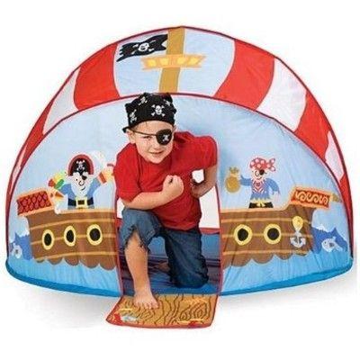 Tält till lek - pop-up-modell pirat