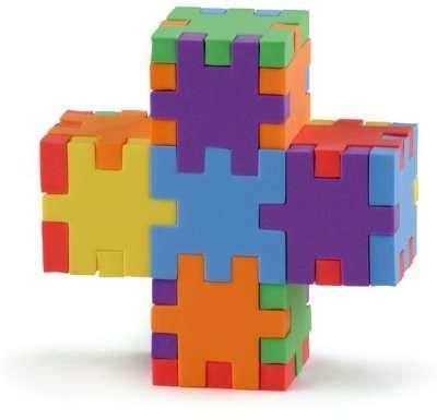 3D-pussel - Happy cube