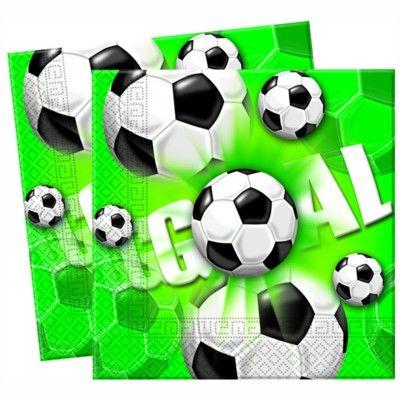 Kalasservetter - fotboll - 20 st