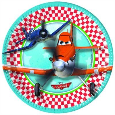 Kalastallrikar - Planes - 8 st