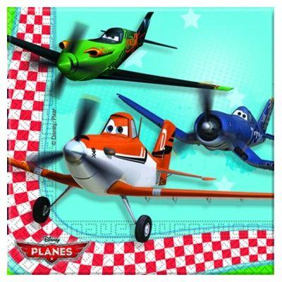 Kalasservetter - Planes - 20 st
