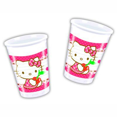 Kalasmuggar - Hello Kitty - 8 st