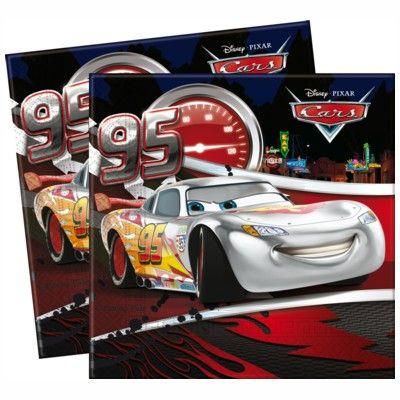 Kalasservetter - Cars - 20 st