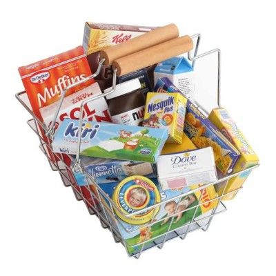 Leksaksmat - Inköpskorg med mat