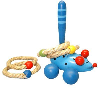 Ringspel, blå mus