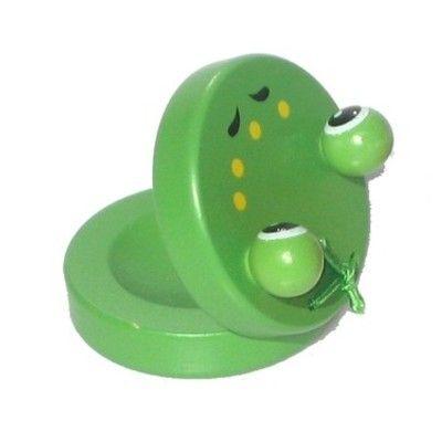 Kastanjett, grön - groda