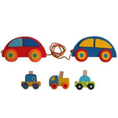 Teckningshållare med bilar