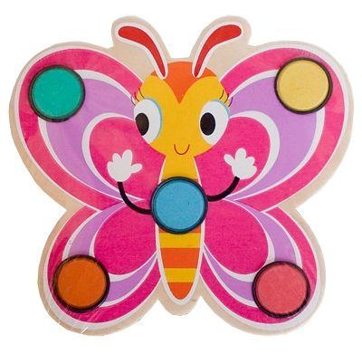 Vattenfärger - fjäril