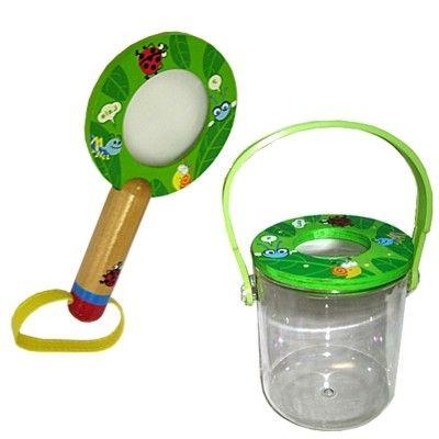 Förstoringsglas och Insektshink - grön