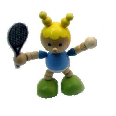 Sportsman i trä - Tennis