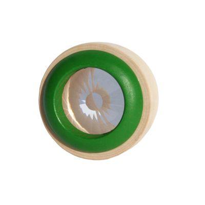 Kaleidoskop i trä - grön